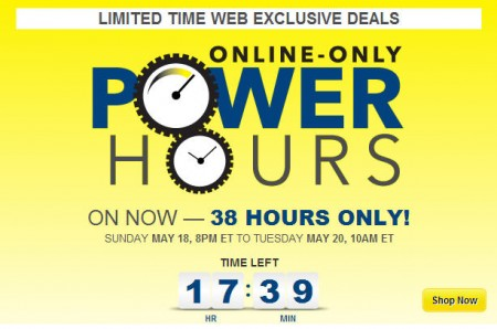 Best Buy Power Hours Sale - Online Only (May 18-20)