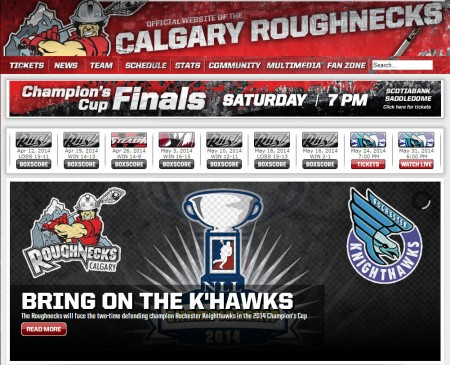Calgary Roughnecks Save up to 40 Off Champion's Cup Finals Tickets Promo Code (May 24)