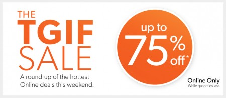 Chapters Indigo The TGIF Online Sale - Save up to 75 Off