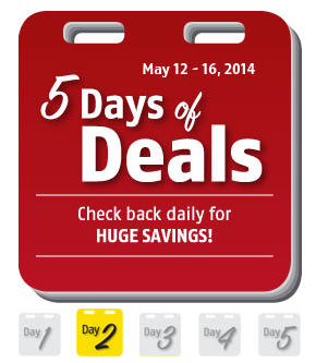 Future Shop 5 Days of Deal (May 12-16)