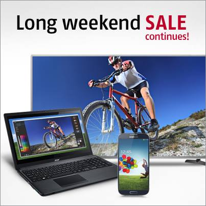 Future Shop Long Weekend Sale Extended