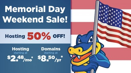 HostGator 50 Off All Web Hosting Packages (May 23-26)