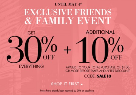 Jacob Friends & Family Event