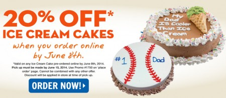 Marble Slab Creamery 20 Off Ice Cream Cakes (Order by June 8)