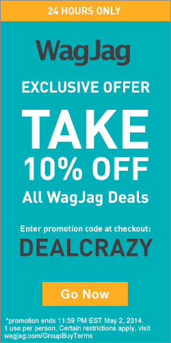 WagJag.com 10 Off All Deals Promo Code (May 2 Only)