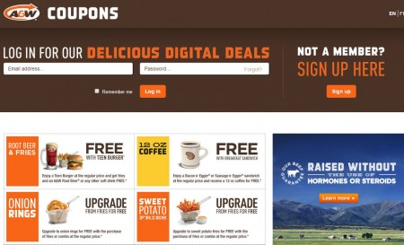 A&W Canada New Printable Coupons (Until June 15)