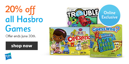 Chapters Indigo 20 Off All Hasbro Games & up to 50 Off Hot Summer Reads