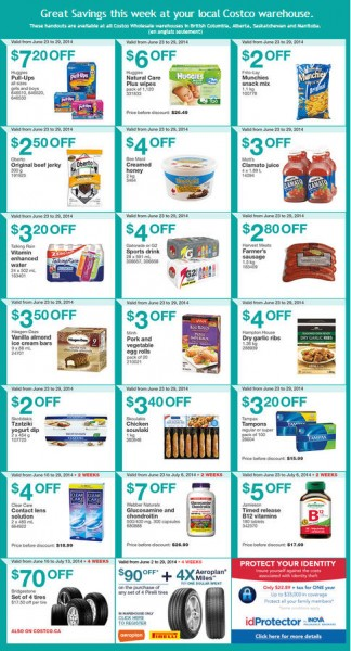 Costco Weekly Handout Instant Savings Coupons West (June 23-29)