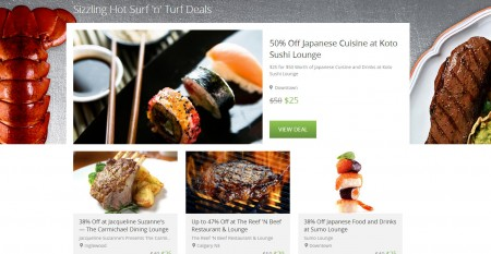 Groupon Extra 10 Surf n Turf Deals Promo Code (June 24)