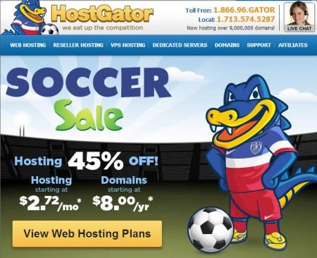 HostGator 45 Off All Web Hosting Packages (June 24 Only)