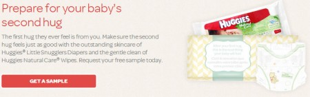Huggies FREE Baby Diapers and Wipes Sample!