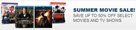 Best Buy Summer Movie Sale - Save up to 50 Off