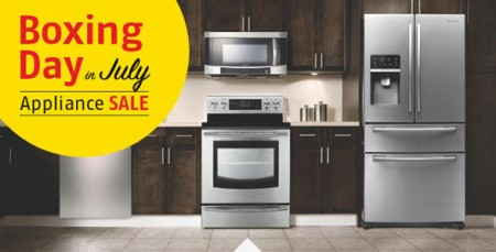 Future Shop Appliance Sale - Boxing Day in July (Until July 10)