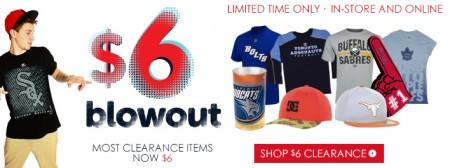 Lids $6 Clearance Blowout Sale (July 18-21)