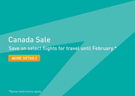 WestJet Canada Sale (Book by July 27)