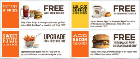 A&W Printable Coupons (Until Sept 7)