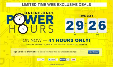 Best Buy Power Hours Sale - Online Only (Aug 3-5)