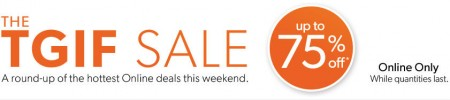 Chapters Indigo TGIF Sale - Hottest Online Deals this Weekend (Aug 1-4)