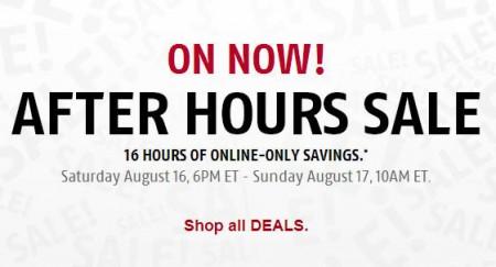Future Shop 16-Hours After Hours Sale (Aug 16-17)