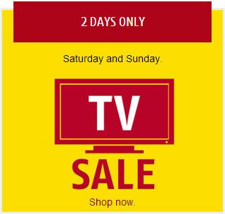 Future Shop TV Sale (Aug 23-24)