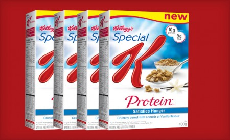 Kellogg's Canada $15 for 6 Boxes of Special K Protein Cereal