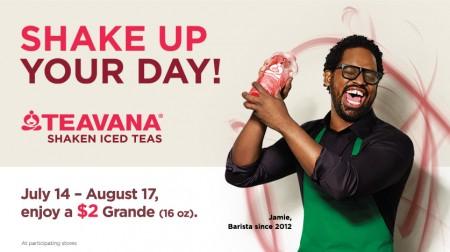 Starbucks Treat Receipt - Bring Back Morning Receipt, Get a Grande Beverage for $2 (Until Aug 17)
