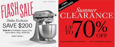 TheBay Flash Sale - 50 Off KITCHENAID Classic Plus Stand Mixer (Aug 6)