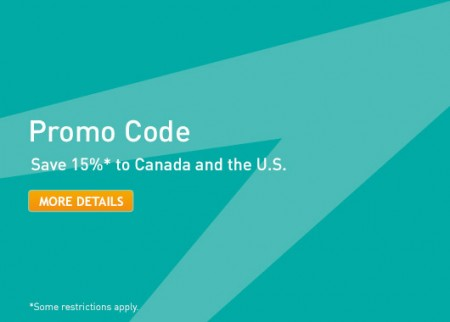 WestJet Promo Code - 15 Off to Canada and USA (Book by Aug 14)