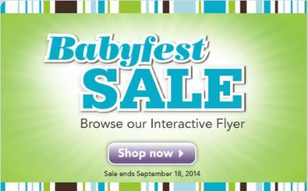 Babies R Us Babyfest Sale (Until Sept 18)