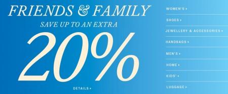 Hudson's Bay Friends & Family Sale (Sept 19-21)