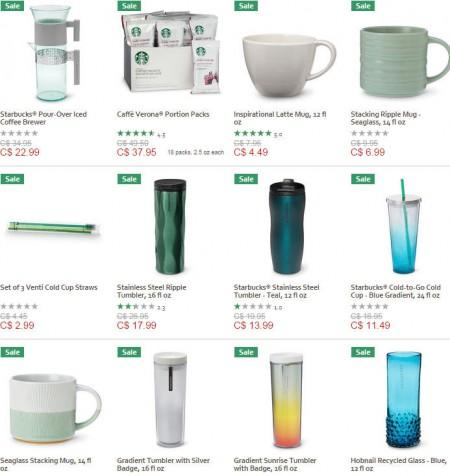 Starbucks Store Up to 30 Off Starbucks Mugs, Tumblers & More (Until Oct 31)