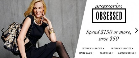 TheBay Buy More, Save More - Up to $50 off Women's shoes, boots, handbags, watches and accessories (Sept 9-21)
