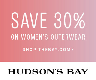 TheBay Flash Sale - 30 Off Women's Jackets and Coats (Sept 3)