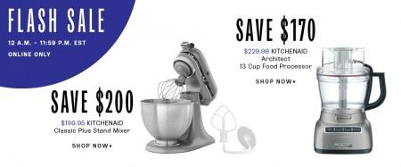 TheBay Flash Sale - 50 Off KitchenAid Classic Plus Stand Mixer (Sept 17)