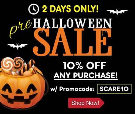 Buytopia Halloween Sale - Extra 10 Off Any Purchase Promo Code (Oct 27-28)