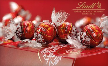 Lindt & Sprungli - $15 for $30 towards Lindt Chocolates