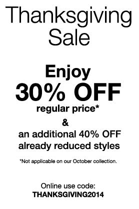 Mexx Thanksgiving Sale - 30 Off Regular-Price Items, Extra 40 Off Sale Items (Until Oct 15)