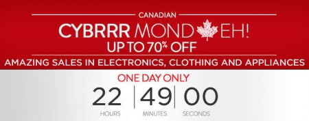 SHOP Canadian Cyber Monday Sale - Save up to 70 Off (Oct 13)