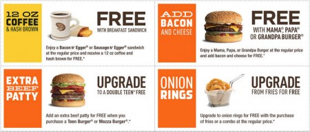 A&W New Printable Coupons (Until Nov 16)