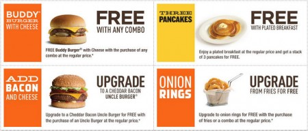 A&W New Printable Coupons (Until Nov 30)