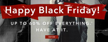 Aritzia Happy Black Friday - Up to 60 Off Everything