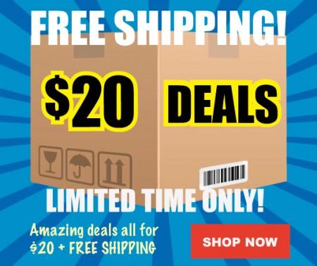 Buytopia $20 Deals + Free Shipping (Nov 20-24)