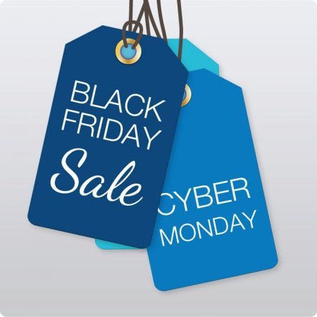Coming Soon Black Friday (Nov 28) and Cyber Monday (Dec 1)