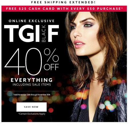 79888184fa0b5 Dynamite Black Friday Sale - 40 Off Everything + Free Shipping (Nov 26-30