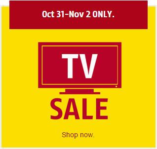 Future Shop 3-Day TV Sale (Until Nov 2)