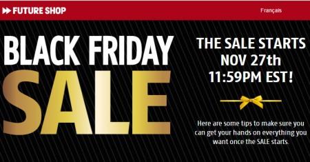 Future Shop Black Friday Sale
