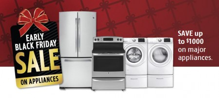 Future Shop Early Black Friday Sale on Appliances