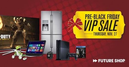 Future shop pre black friday vip in store sale nov 27 for Las vegas hotels black friday deals