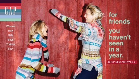 GAP Friends & Family Event - 40 Off Your Purchase (Nov 5-11)