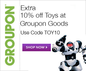 Groupon Extra 10 Off Toys Deal Promo Code (Nov 6-7)